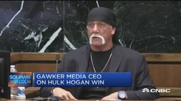 Hulk Hogan tape issue never about the sex: Gawker CEO