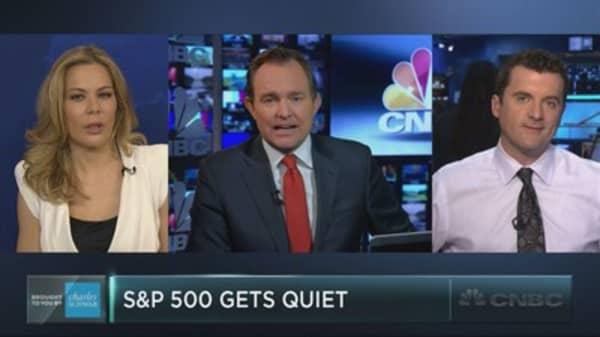 What will break the market's calm?