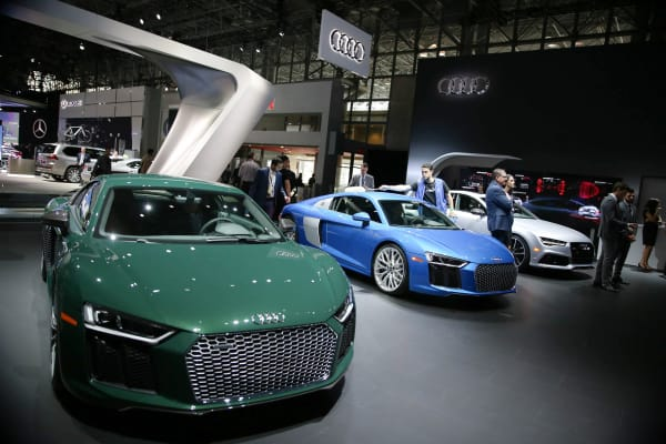 Highlights From The New York Auto Show - New york auto show
