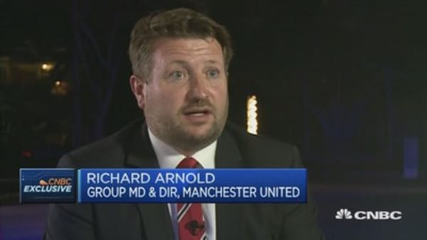 No China Slowdown For Manchester United