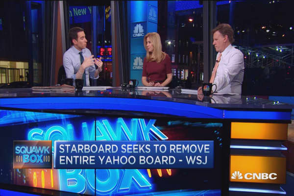 Starboard seeks to remove entire Yahoo board: Report