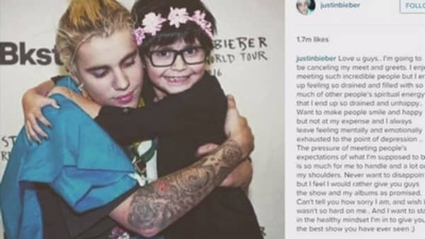 Justin bieber cancels vip meet and greets justin bieber cancels meet and greets m4hsunfo