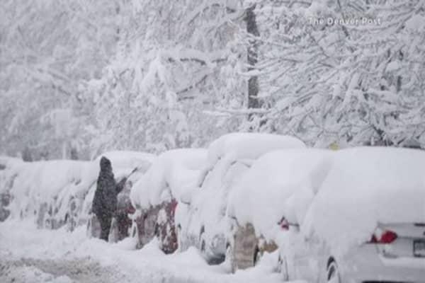 Record-breaking storm hits Colorado
