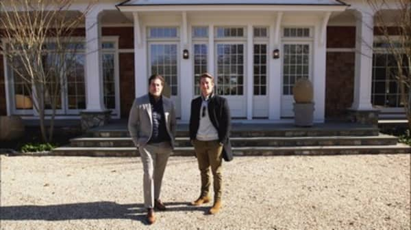 Brothers turn real estate into Hamptons gold mine