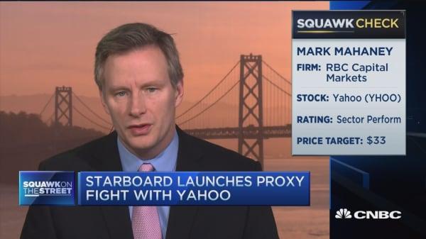 Mahaney: Something dramatically wrong at Yahoo