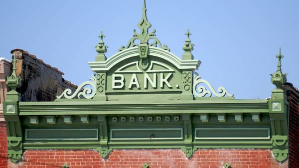 Small town banks