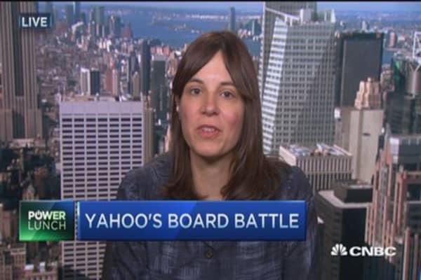 Yahoo's board battle