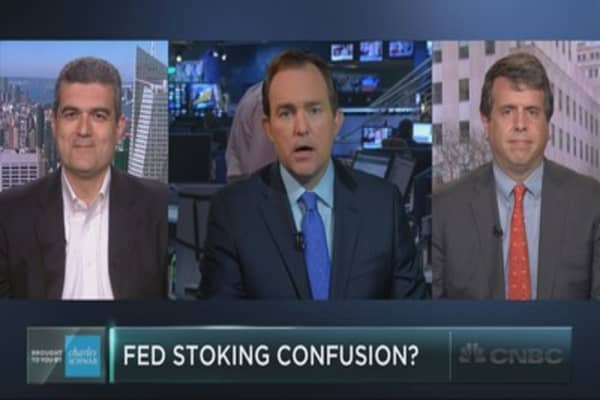Is the Fed trying to confuse investors?
