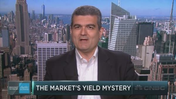 The market's yield mystery