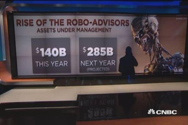 The robo-advice surge