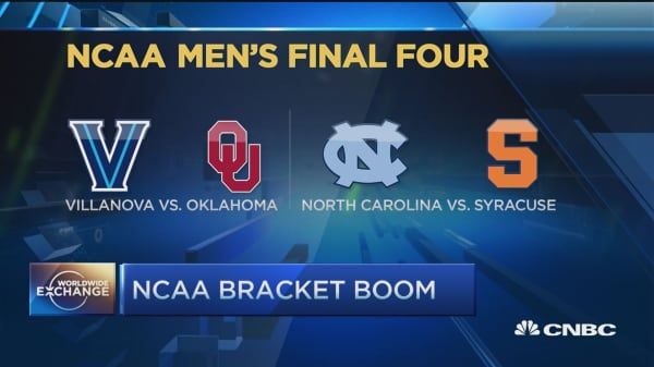 $9B bet on NCAA Tournament