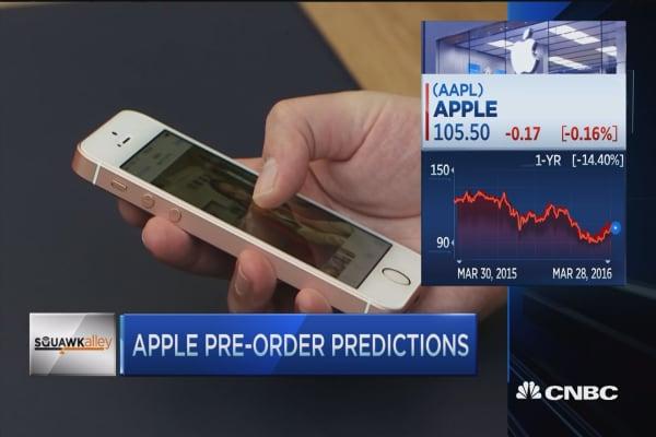 Apple pre-orders predictions