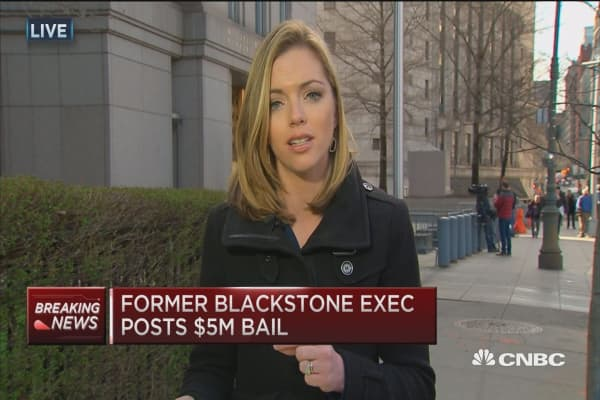 Fmr. Blackstone exec posts $5M bail