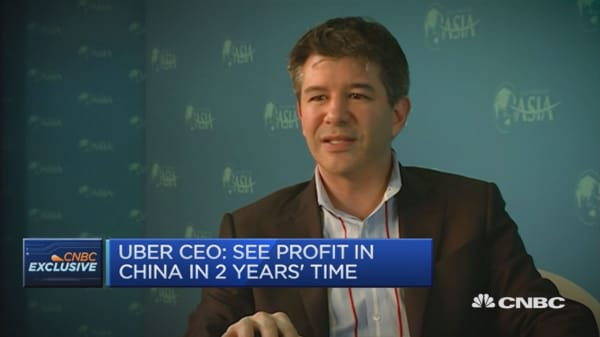 Uber CEO: No plans for IPO anytime soon
