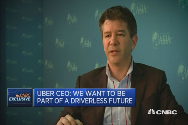 Uber: We want to be part of a driverless future