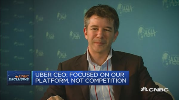 Uber CEO: Some places are better at embracing change