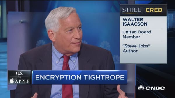 Walking encryption tightrope