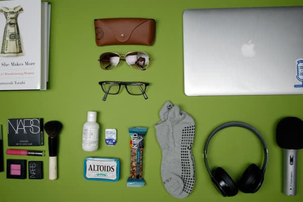 What's in Farnoosh Torabi's bag?