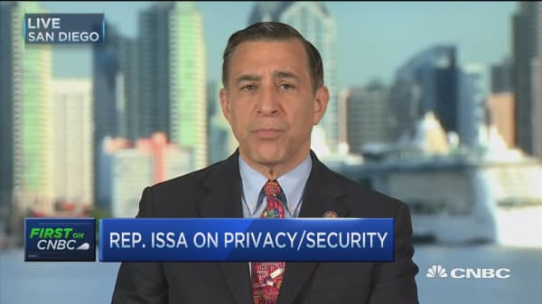 Rep. Issa: Those worried about privacy should stay wary