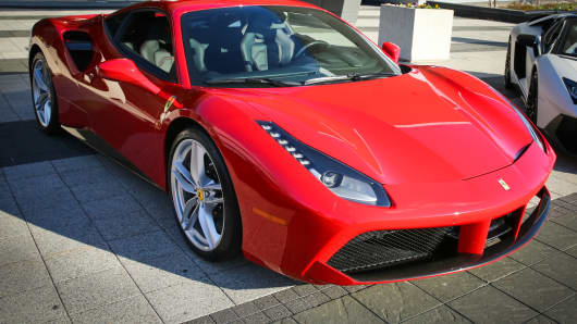 Ferrari's new 488 GTB.