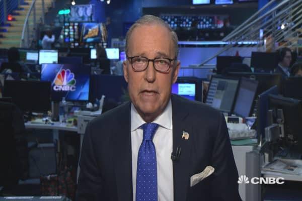 Larry Kudlow agrees with Yellen