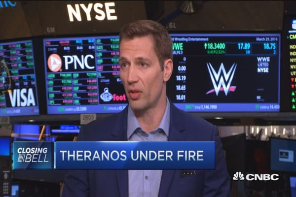 Theranos under fire for abnormal data