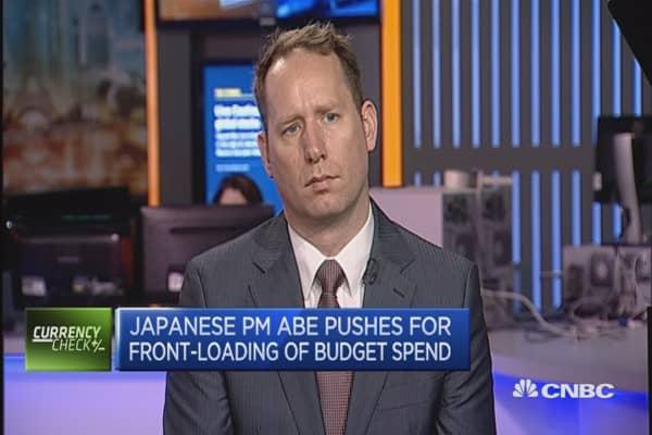 Eyes are on Shinzo Abe: Dennis de Jong
