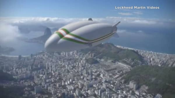 Lockheed Martin strikes $480M deal to sell airships