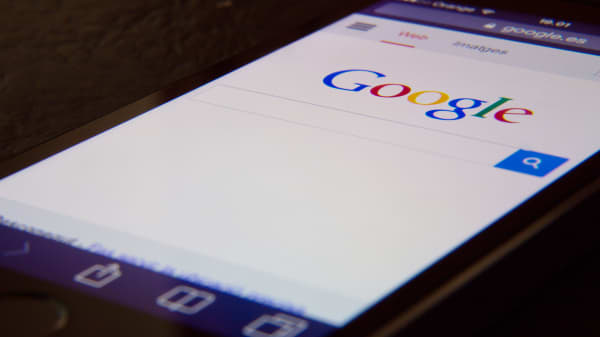 Google search on iphone