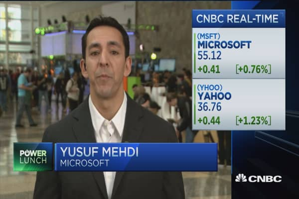 Microsoft's Mehdi: Data security is always under attack