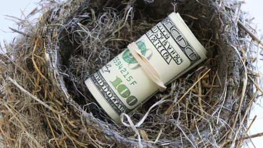 Nest egg retirement savings
