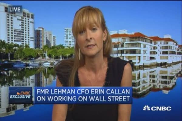 Lehman ex-CFO: The good & bad of being a woman on Wall St.