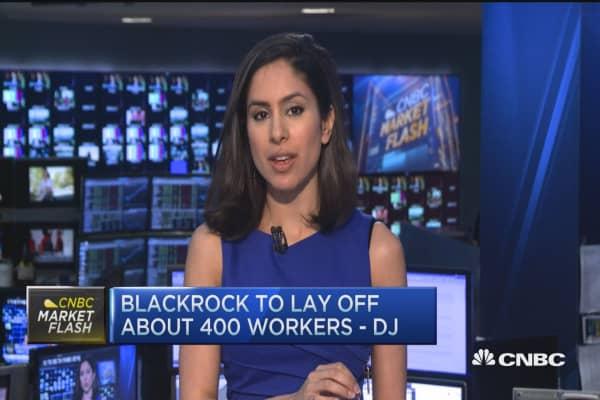 BlackRock's big layoff