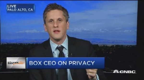 Box CEO: Security in digital world is different