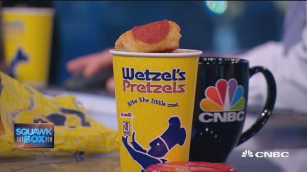 Wetzel's Pretzels' CEO on minimum wage