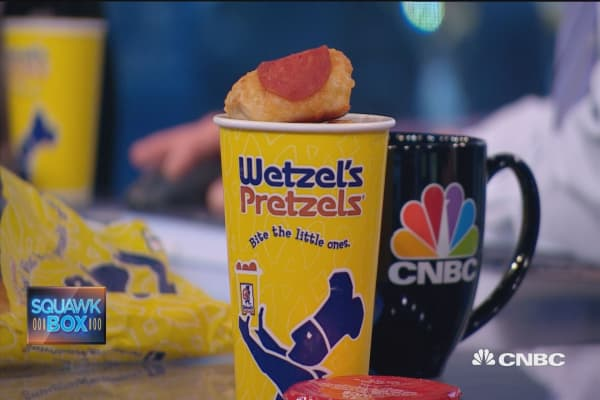 Wetzel's Pretzels' CEO on minimum wage