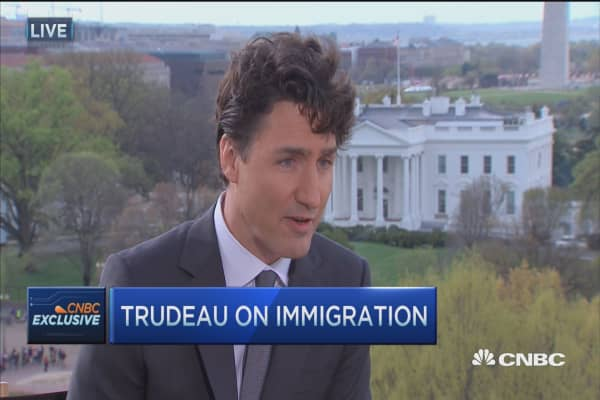 Canada's PM: Separate security risks from immigration policy