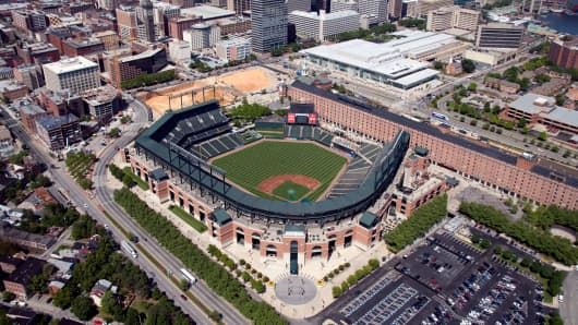 Camden Yards in Balitmore