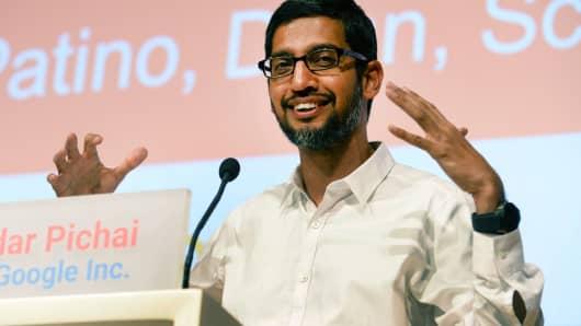 Sundar Pichaik, CEO, Google