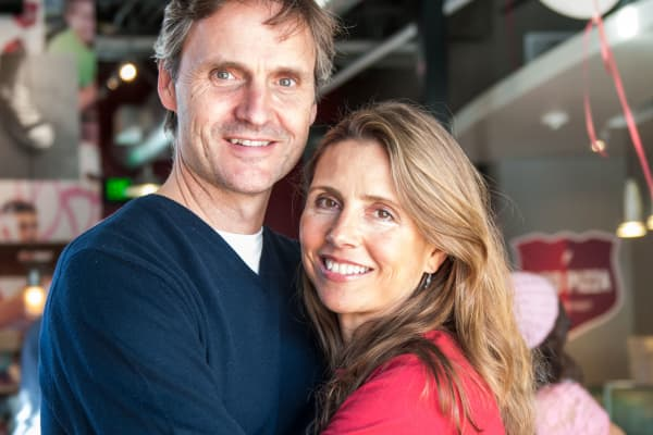 Scott and Ally Svenson, co-founders of MOD Pizza