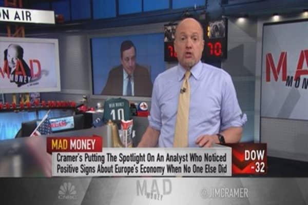 Cramer: Europe's shocking turn—1 guy called it