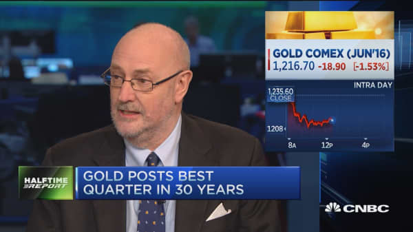 Milling-Stanley: Could see gold at $1350 year-end