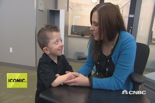 A child's genetic disorder leads to mom launching app