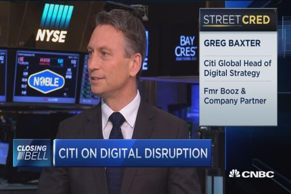 Citi on bank's 'Uber moment'