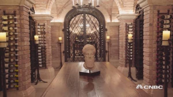 Koch's wine cellar