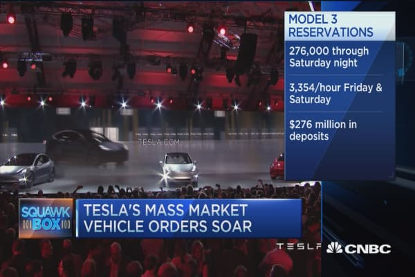 Tesla Model 3 tops $10 billion