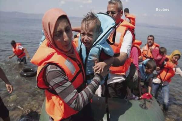 Greece sends migrants to Turkey under EU deal
