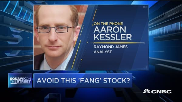 Avoid this FANG stock?