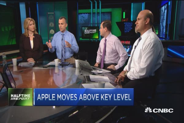 Apple added to US focus list at Credit Suisse
