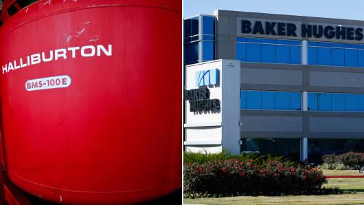 Halliburton and Baker Hughes